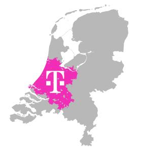 T-mobile 4G dekking in NEderland