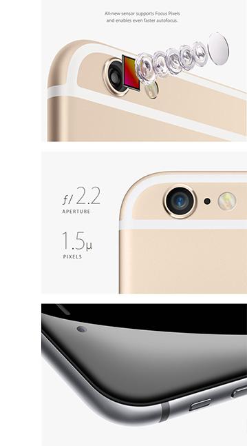 Gouden en zwarte iPhone