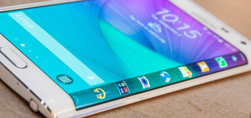 Samsung Galaxy S6 met een edge scherm