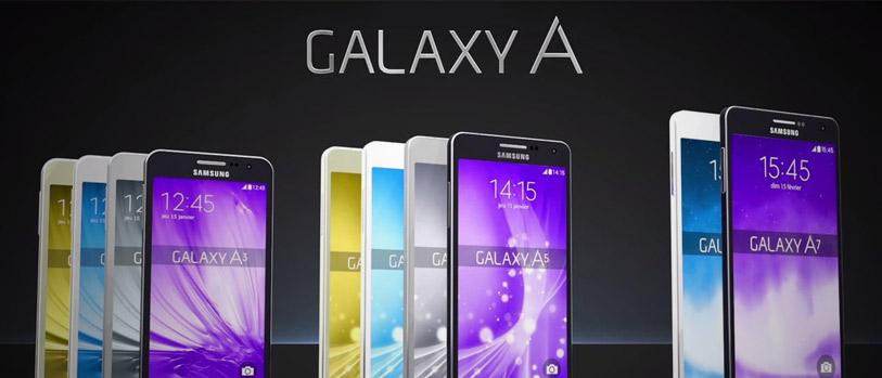 Nieuwe Samsung Galaxy A series