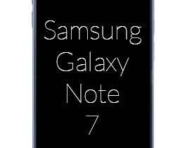 Samsung Galaxy Note 7 abonnement