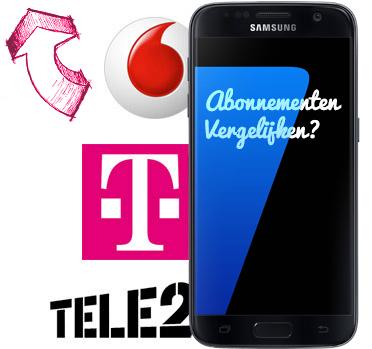Samsung Galaxy S7 abonnementen en aanbiedingen
