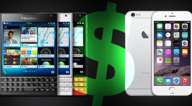 BlackBerry passport inruilen voor een iPhone