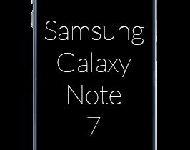 Samsung Galaxy Note 7 abonnement
